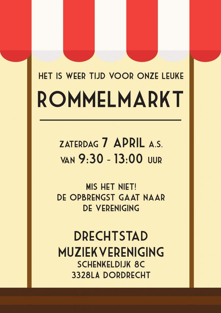 Poster Rommelmarkt